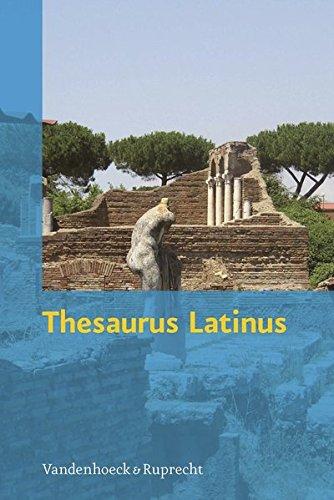 Thesaurus Latinus: Vokabeln und Formen zum Nachschlagen