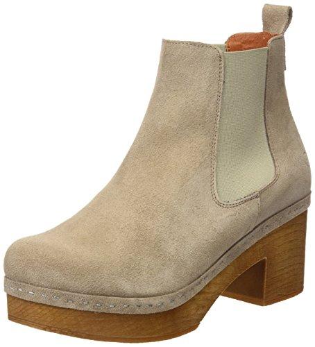 SIXTY SEVEN Damen 77397 Kleid-Schuhe Beige
