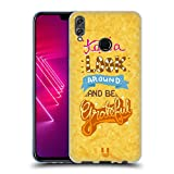 Head Case Designs Grateful 8 Bit Inspirationen Soft Gel Hülle für Huawei Honor View 10 Lite