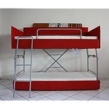 lit superpos 3 places. Black Bedroom Furniture Sets. Home Design Ideas