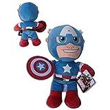 Peluche Captain America Avengers Marvel bonhomme cm. 30