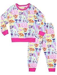 Paw Patrol Pijamas de Manga Larga para niñas Skye y Everest