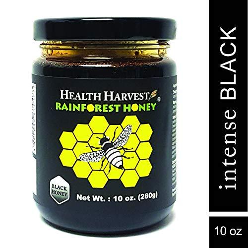 Tualang Schwarzer Honig 280 g | Intensiv Wahl für Ernährungstherapie & Rehabilitation Mehr als 100 Arten von Pollen mit hoher Dichte | Das ganze Jahr über wild geerntet im tropischen Regenwald Sumatra