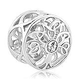 Poetic Charms Baum Des Lebens charm Familie 12 Simulierte Geburtsstein 925er Beads für Armband Halskette