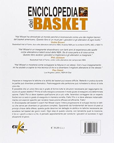 Zoom IMG-1 enciclopedia del basket allenarsi al