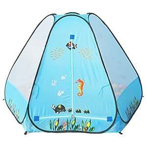 Boule cachette pour House Tente Cubby House Tente de jeu pour l'intérieur ou l'extérieur en forme de boule de billard