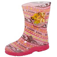 Disney The Lion King Girls Wellington Boots