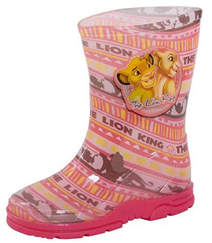 Disney The Lion King Mädchen Gummistiefel, Pink - Rose - Größe: 28 EU