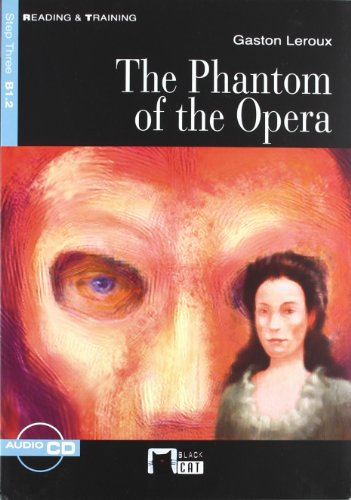 The Phantom Of The Opera+cd N/e (Black Cat. reading And Training) por Cideb Editrice S.R.L.
