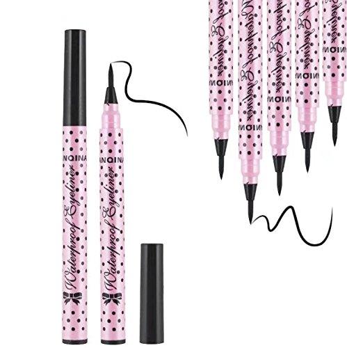 RICISUNG Eyeliner Pen Maquillage Cosmétique Noir Rose Liquid Eye Liner Crayon Composent Outil