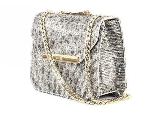 Guess Famous borsa a tracolla 17 cm Panther (Silber)
