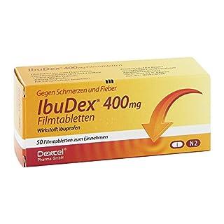 IBUDEX 400 mg Filmtabletten 50 St Filmtabletten