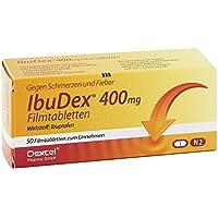 IBUDEX 400 mg Filmtabletten 50 St preisvergleich bei billige-tabletten.eu