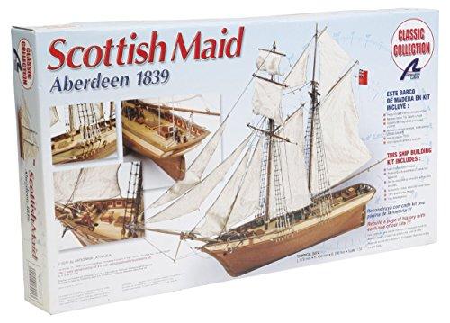 Artesanía Latina 18021 - Modell aus Holz: Schiff Scottish Maid 1/50