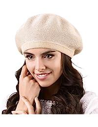 dd10ae4f43325 Amazon.co.uk  Gold - Berets   Hats   Caps  Clothing