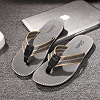fankou The Trend That The Drag and Male Summer Fashion Beach Slippers Non-Slip Grip Foot Wear Students and Soft, Cool Slippers, 41, Light Gray