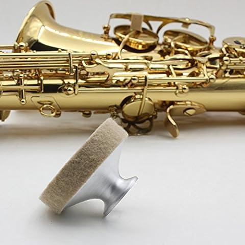 Professional Sourdine pour saxophone ténor Saxophone son Metal Amortisseur