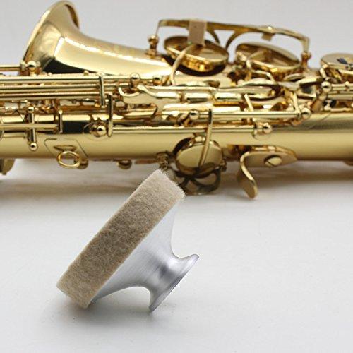 Metall-dämpfer (Professionelle Tenor Saxophon Dämpfer Saxophon Sound Metall Dämpfer)