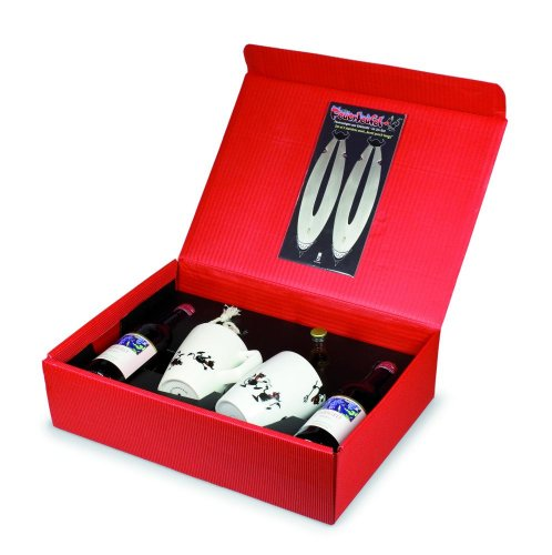 5 Stück Take2 Feuerteufel Geschenkbox, Feuerzangenbowle Geschenk-Set