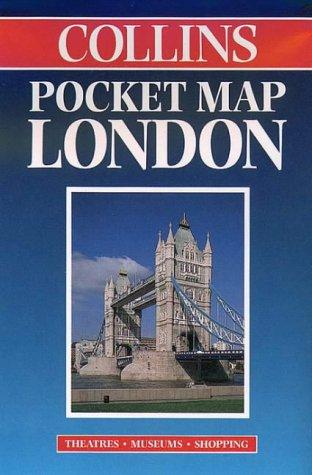 Carte routière : London Pocket Map (en anglais)