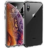 Syncwire Coque iPhone XS/X 5.8 - UltraRock Series Housse Rigide de Protection avec Protection Anti-Chute et Technologie Avancée de Coussin d'air pour iPhone XS/X (2018) - Ultra Transparent