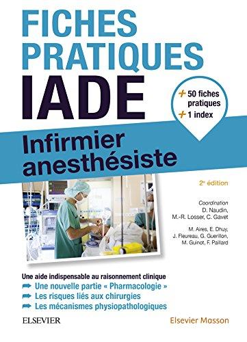 Fiches pratiques IADE: Infirmier anesthsiste