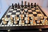 ChessEbook Schachspiel + Dame + Backgammon 40 x 40 cm Holz