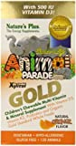 Animal Parade Gold, Children's Chewable Multi-Vitamin & Mineral, Orange Flavour, 120 Animals