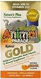 Natures Plus Animal Parade GOLD Children's KauTabletteten Multi Orange , 120