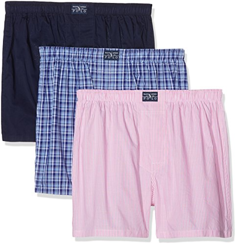polo-ralph-lauren-mens-3-woven-boxer-shorts-mehrfarbig-smith-kent-nvy-jf169-xl-pack-of-3