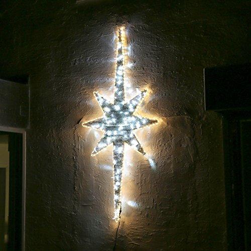 aussen-aluminium-und-rattan-weihnachtsbeleuchtung-nordstern-leds-weiss-blinkend-2m-von-festive-light