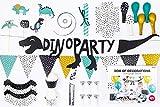 SiDeSo® Deko Set Party Hochzeit Geburtstag Dekoration (Dinosaurier)