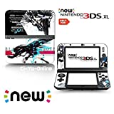 [new 3DS XL] Black Rock Shooter #10 Limited Edition VINYL SKIN STICKER DECAL COVER for NEW Nintendo 3DS XL / LL Console System by Ci-Yu-Online
