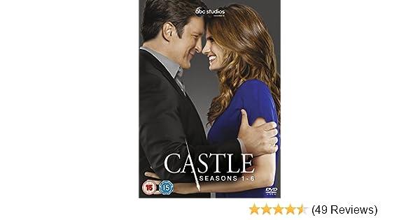 Castle - Season 1-6 [DVD]: Amazon co uk: Nathan Fillion