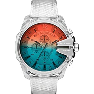 Diesel Reloj Cronógrafo para Hombre de Cuarzo con Correa en Acero Inoxidable