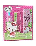 Hello Kitty Set di papeleria con astuccio metallico