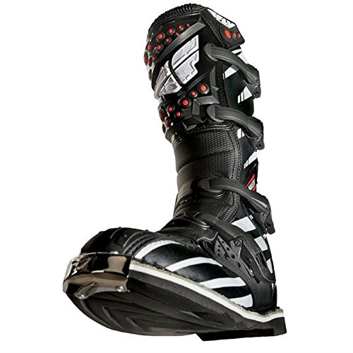 Fly Racing Motocross-Stiefel Maverik Schwarz Gr. 39-40 - 2