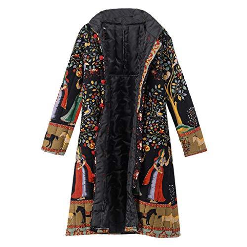 QUICKLYLY Abrigo Invierno Mujer Chaqueta Suéter Jersey