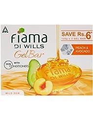 Fiama Di Wills Gel Bathing Bar, Peach and Avocado, (3*125g)