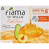 Fiama Di Wills Gel Bathing Bar, Peach and Avocado, (3*125g)