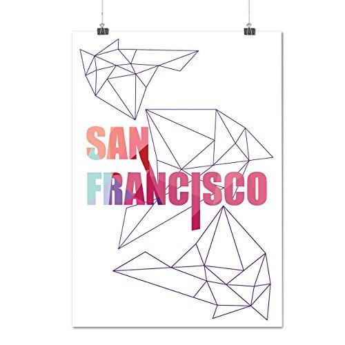 city-urban-san-francisco-california-matte-glossy-poster-a3-42cm-x-30cm-wellcoda