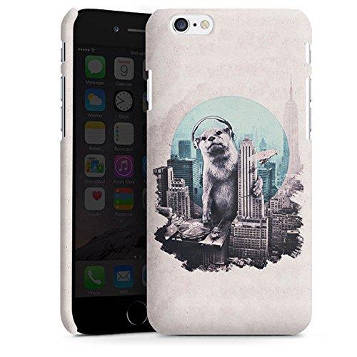 Apple iPhone 6 Plus Silikon Hülle Case Schutzhülle Otter Stadt City Premium Case matt