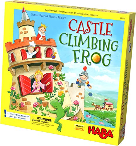 HABA Castle Climbing Frog | 3D memory game for children, games for 5 year old | 303993