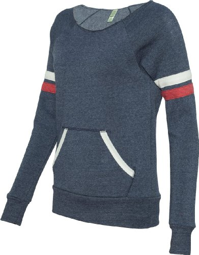 Alternative Apparel Pull de sport Maniac pour femme Bleu - ECO TR NAVY