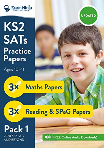 2019 KS2 SATs Practice Papers - Pack 1 (English Reading, SPa