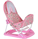 Best Baby Tubs For Newborns - Novelty Deluxe Pink Printed Baby Bather with Removable Review