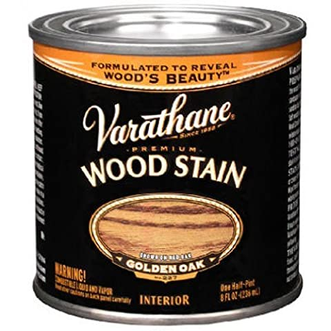 Rust-Oleum 211793 Varathane Oil Base Stain, Half Pint, Golden Oak by Rust-Oleum