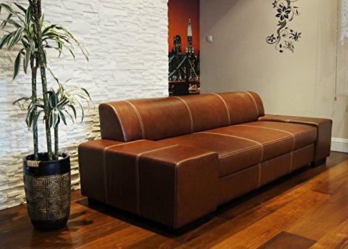 Super Lange Echtleder 3 Sitzer Sofa-180921145951