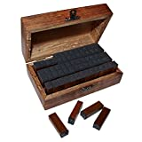 Set 70 Stampini Inchiostro Alfabeto Gomma e Legno - Best Reviews Guide