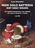 Non Solo Batteria / Not Only Drums Percussions+CD